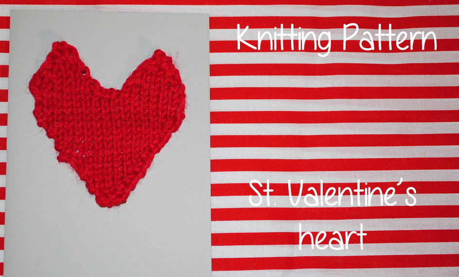 Knitted Heart Knitting Pattern