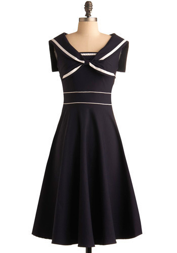 Navy dress Luxury Craft Dress