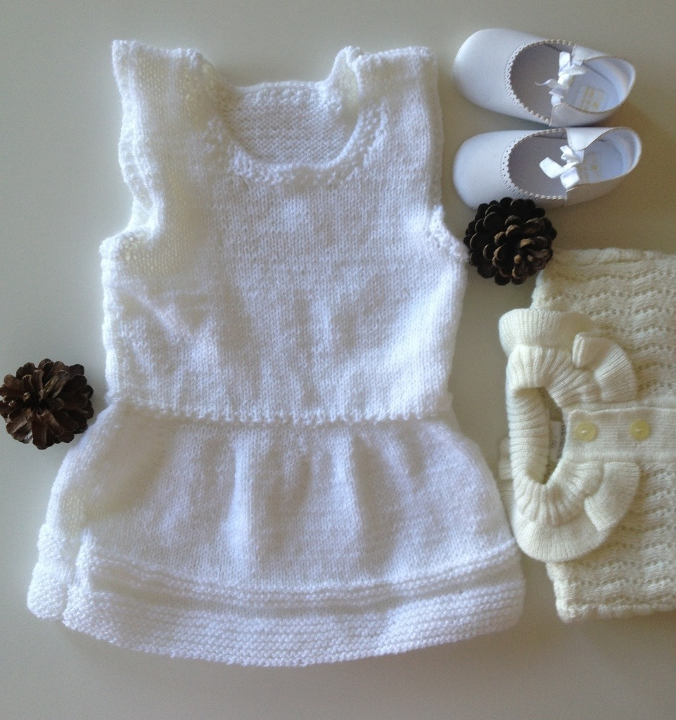 Baby Knitted Dress Pattern
